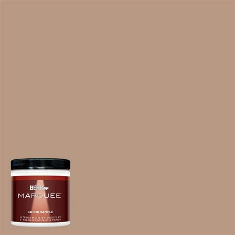 behr marquee 8 oz mq2 41 cavern clay interior exterior paint sle mq30416 the home depot