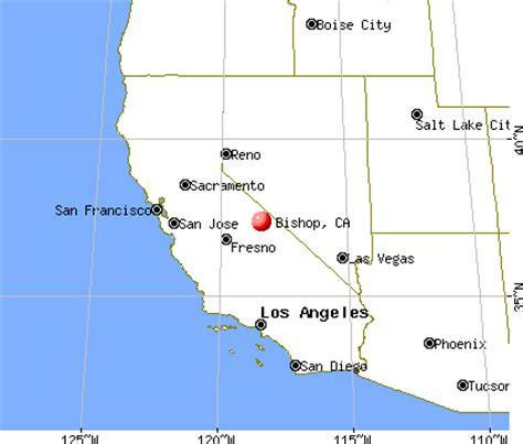california map bishop bishop california ca 93514 profile population maps