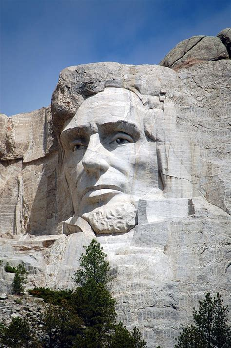 abraham lincoln or south mount rushmore national landmark president abraham lincoln