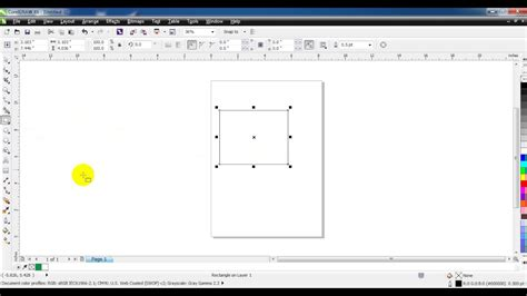 coreldraw x6 outline how increase outline of object coreldraw x6 youtube