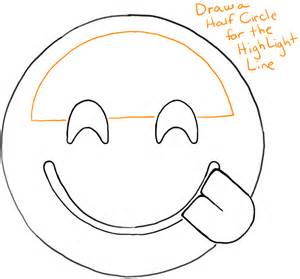 Emoji Face With Tongue Sticking Out Sketch Coloring Page sketch template