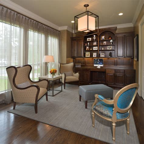 reading room reading room retreat transitional home office houston by manchee designs