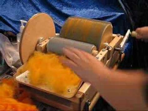 drum carder tutorial working on a drum carder part 1 take 2 youtube