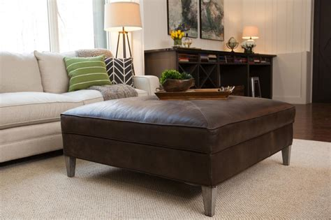 patterned ottoman coffee table coffee tables ideas leather ottoman coffee table with