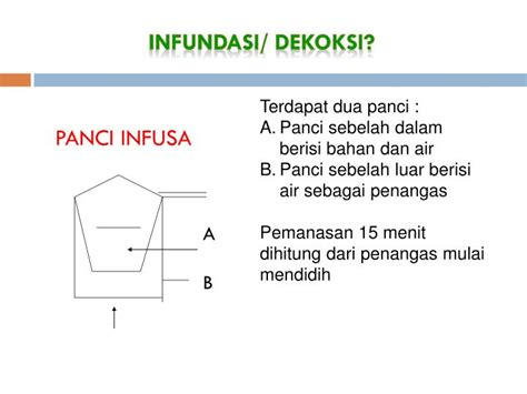 Panci Infusa ppt kimia bahan alam powerpoint presentation id 4745215