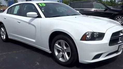 Find Used 2013 Dodge Charger Used White 2013 Dodge Charger Se