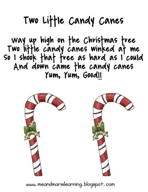 song quot two little candy canes quot free from me marie