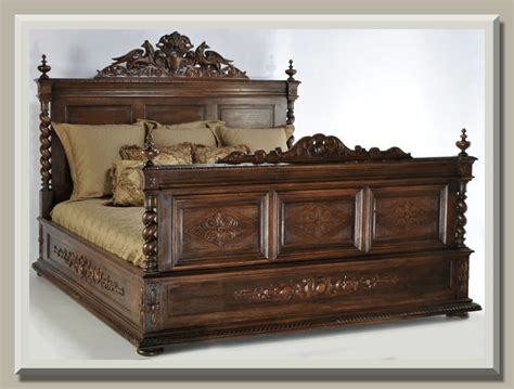 unusual king size headboards antique of the week a bed fit for a king antiques in style