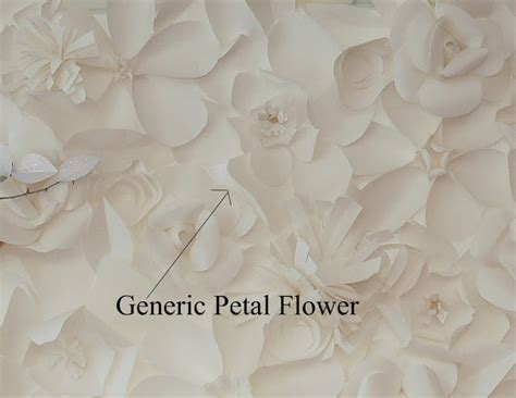 paper flower wall tutorial elegant wall made of paper flowers step by step oh my