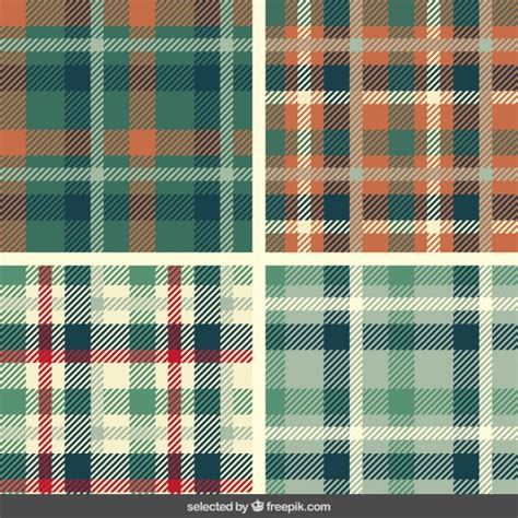 pattern quadriculado photoshop tartan patterns set vector free download