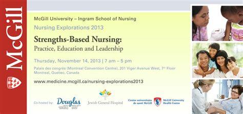 nursing school montreal strengths based nursing practice education and