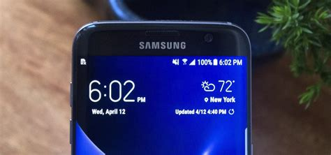 Samsung S6 Gadget get the galaxy s8 s new weather widget on galaxy