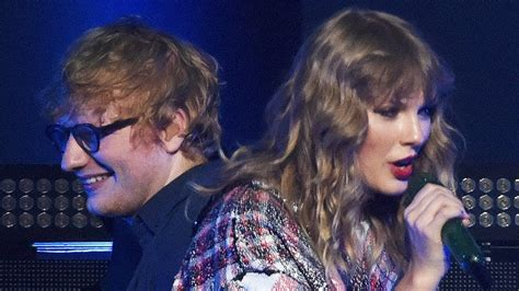 ed sheeran end game taylor swift ed sheeran surprise crowd with first quot end