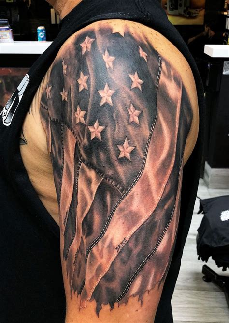 small american flag tattoo best 25 american flag tattoos ideas on