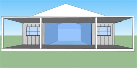 grid living shipping container home plans