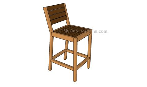 building bar stools pallet bar stool plans myoutdoorplans free woodworking