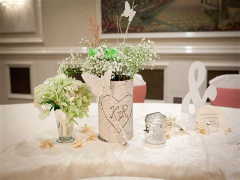 Handmade Table Decorations For Weddings - diy wedding table decorations diy wedding decorations