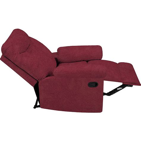 reclining back chair with ottoman reclining chairs rocking recliner loveseat oversized