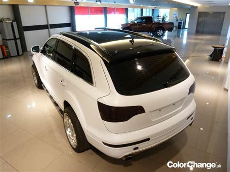 Folie Na Okna Trnava by Audi Q7 Colorchange Sk