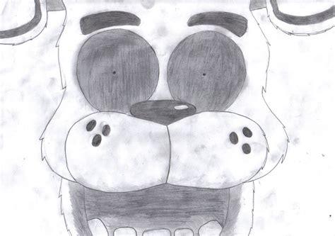 Fnaf 1 Sketches by Fnaf 1 Drawing Golden Fredster S Deathscreen By Lpslover43