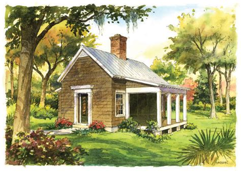 backyard cottage plans find house plans house plan thursday southern living plan of the month