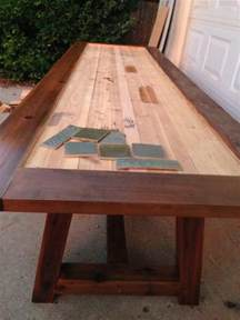 reader showcase tile top provence dining table the