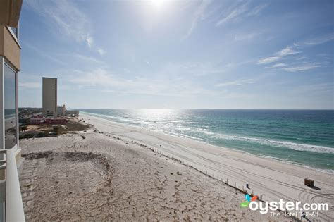 2 bedroom suites in panama city beach fl the two bedroom condo at the emerald beach resort oyster com