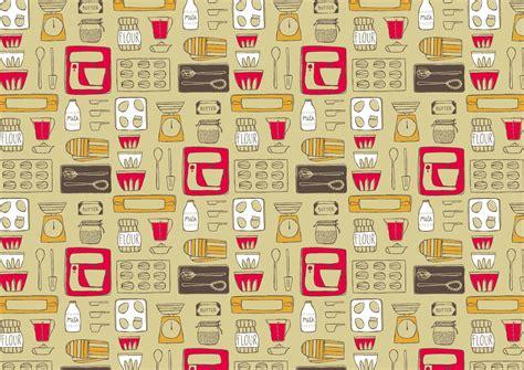 Kitchen Pattern by Vintage Kitchen Wallpaper 21 Designs Enhancedhomes Org