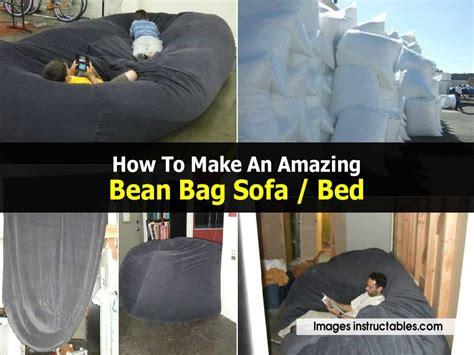 amazing bean bag sofa bed