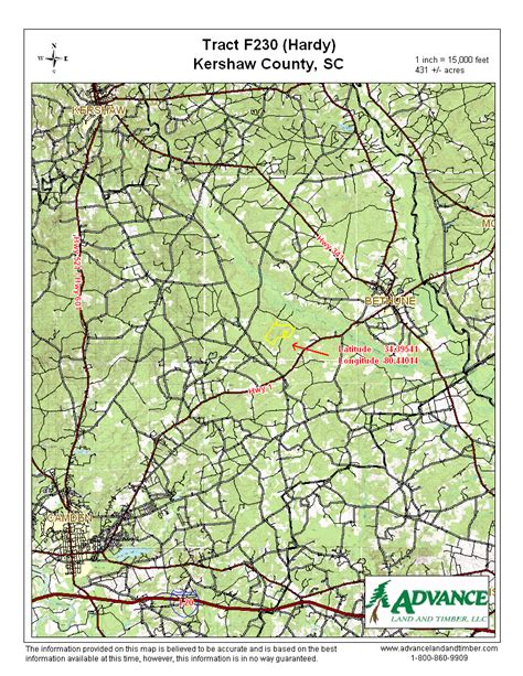Kershaw County Property Records 431 Acres In Kershaw County South Carolina