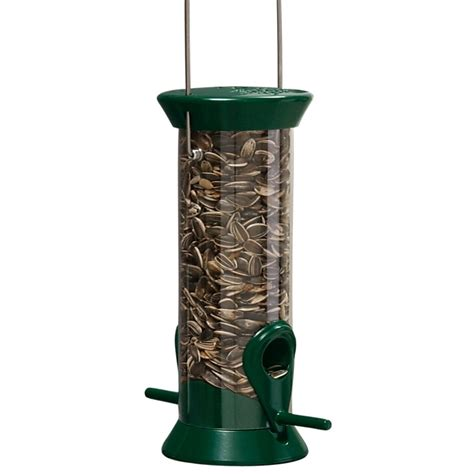 new generation 8 quot forest green sunflower mixed seed feeder