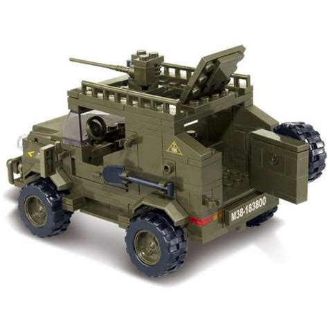 Army Jeep Lego Compatible Haden