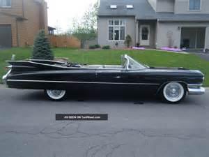 60 Cadillac Convertible 1959 Cadillac Convertible 60 And 62 Eldorado Biarritz