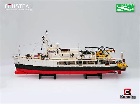 lego tanker boat the world s best photos of calypso and cousteau flickr
