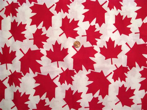 Upholstery Material Canada by Canada Maple Leaves Fabric Print Leaves By