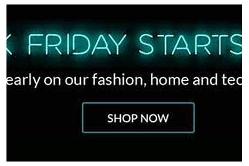 littlewoods black friday deals 2018