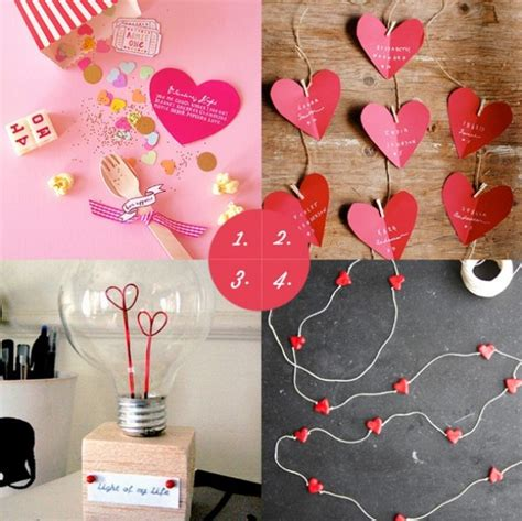 Creative Handmade Valentines Gifts For Him - valentines day gifts for him modern magazin