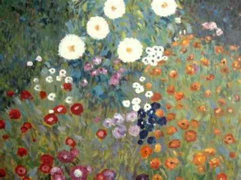 klimt giardino fiorito falsi dautore paintings