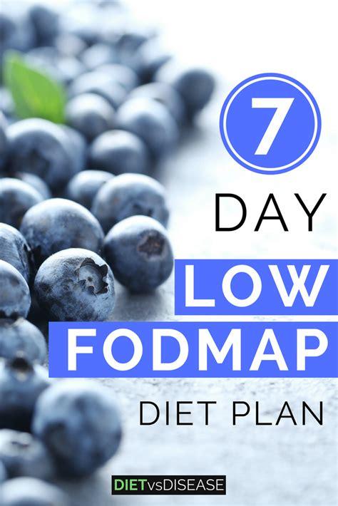 Fodmap Detox Symptoms by 7 Day Low Fodmap Diet Plan For Ibs Printable Pdf