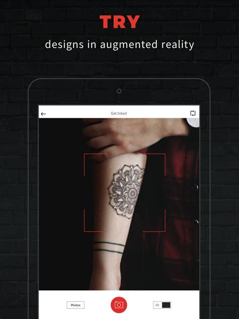 design your own tattoo app inkhunter try designs in augmented reality on the