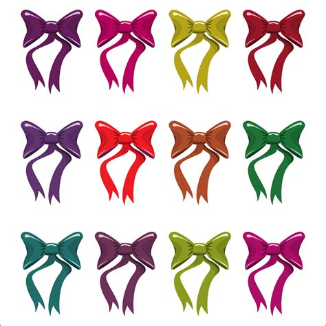 colorful bows colorful bows free stock photo domain pictures