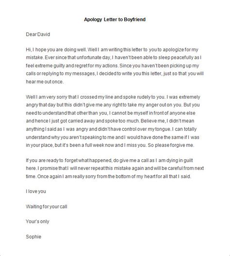 Closing Letter Boyfriend 36 friendly letter templates free sle exle
