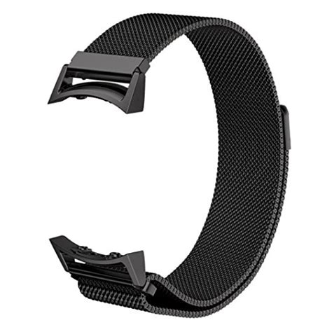 Samsung Gear Fit 2 Adapter Metal Connector Clasp Band gear s2 bands v moro fully magnetic closure clasp mesh loop import it all