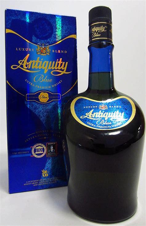 antiquity blue ultra premium whisky ml buy   thulocom   price  nepal