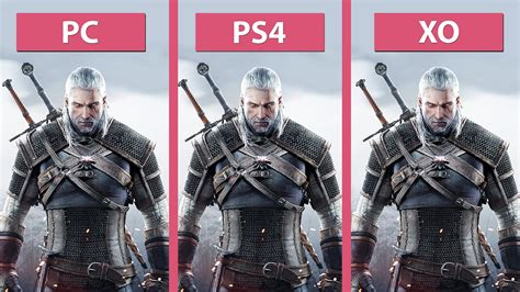 witcher 3 ragdoll the witcher 3 hunt pc ultra vs ps4 vs xbox one