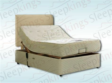 electric adjustable bed 4ft6 with memory foam or pocket sprung mattress ebay
