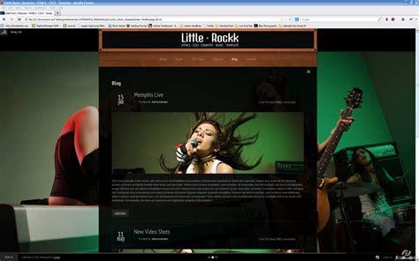 themeforest nitro little rockk country music html template by nitro themes