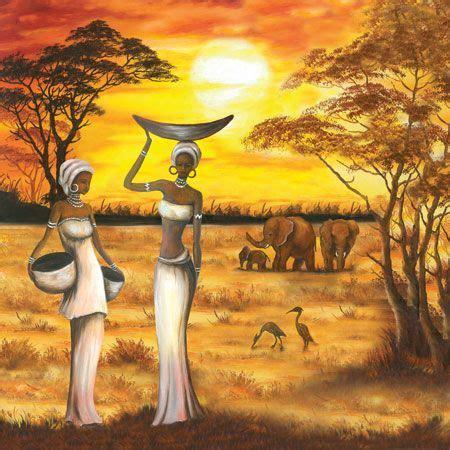 cuadros africa cuadros y laminalar africanas buscar con