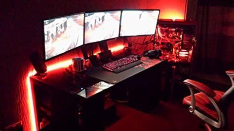 gaming desk led lights lifetime warranty led light kit for quot your quot gaming desk