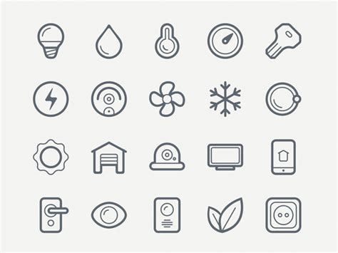 design icon free online 20 free icon sets for minimalistic designs hongkiat